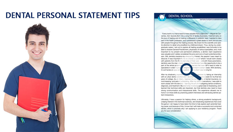 Writing a Statement of Purpose for Dental School   Dental School       Tips on What to Include in Your Dental School Personal Statement The Dental  school personal
