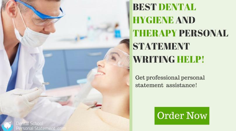 dental hygiene personal statement assistance
