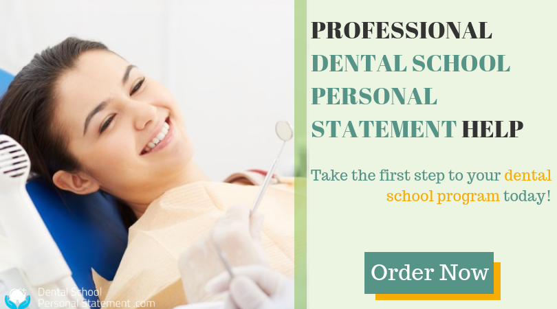 expert dental residency personal statement help