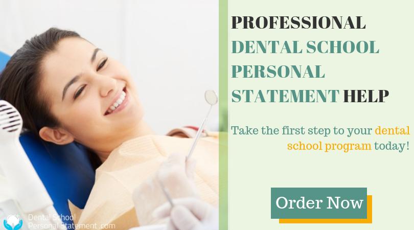 expert dental residency personal statement help