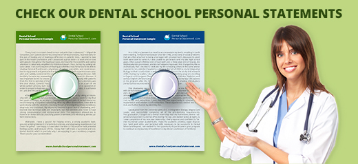 dental school personal statement examples