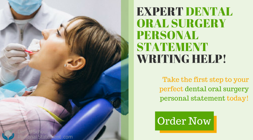 dental oral surgery writing help