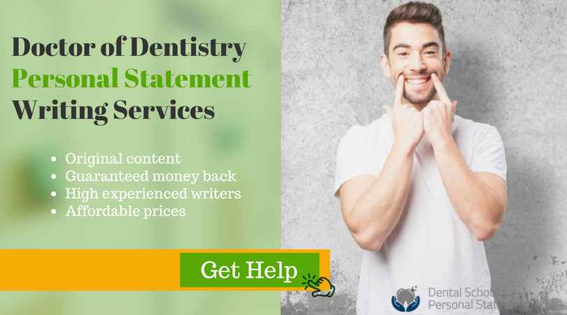 doctor of medical dentistry writing help