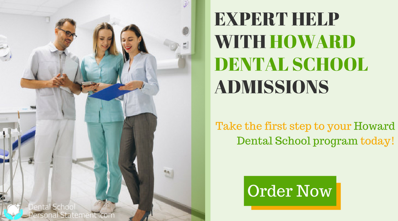 howard dental school admissions help