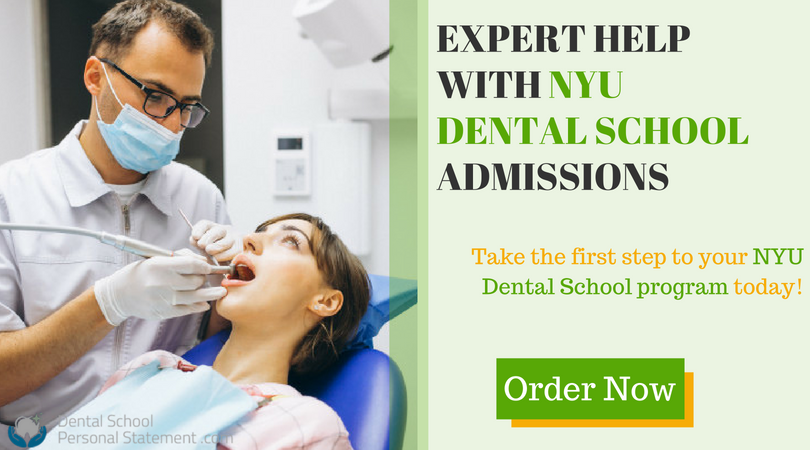 nyu dental school admissions help