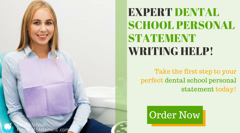professional dental school personal statement examples