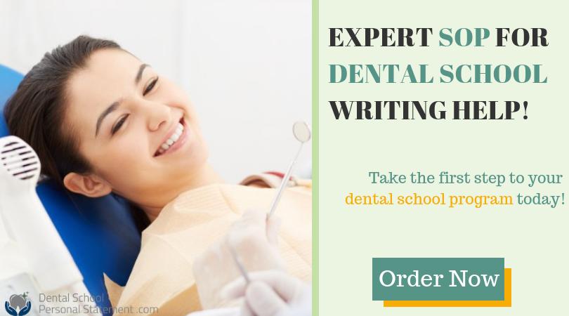 statement of purpose for dental school help