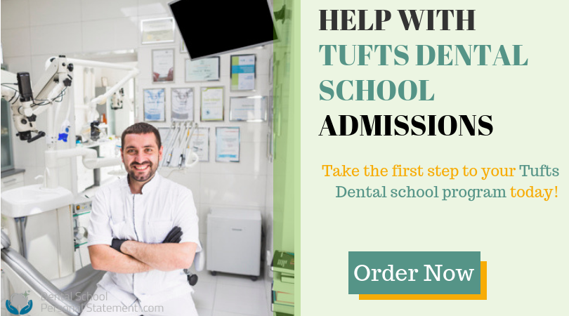 tufts dental school admissions